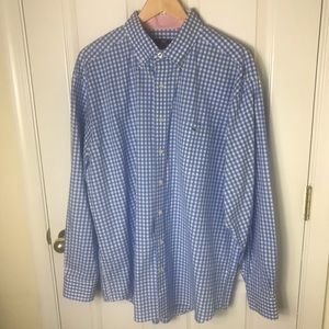 Vineyard Vines Whale Logo Plaid Tucker Shirt